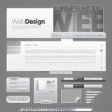 Modello di Web site Immagini Stock