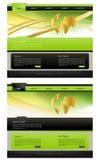 Modello di Web site Fotografia Stock