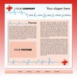 Modello di Web site di affari royalty illustrazione gratis