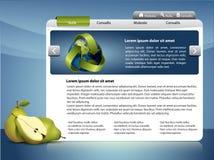 Modello di Webdesign Fotografia Stock