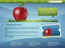 Modello di Webdesign Fotografie Stock Libere da Diritti
