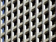 Modello di Windows della costruzione Immagine Stock