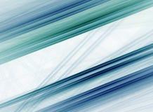 Modello diagonale blu e verde Fotografie Stock Libere da Diritti