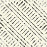 Modello diagonale senza cuciture della banda Priorità bassa quadrata astratta Fotografie Stock