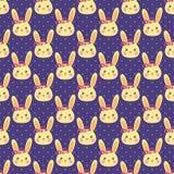 Modello divertente del coniglietto Immagini Stock Libere da Diritti