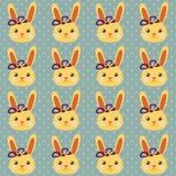 Modello divertente del coniglietto Fotografia Stock