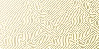 Modello dorato del fondo del modello di festa del nuovo anno o di Natale per progettazione della cartolina d'auguri Oro di vettor Fotografia Stock