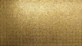 Modello dorato delle mattonelle Immagine Stock