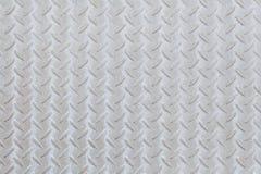 Modello e fondo del piatto del diamante del metallo Fotografia Stock