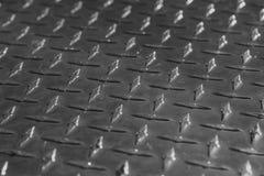 Modello e fondo del piatto del diamante del metallo senza cuciture Fotografia Stock