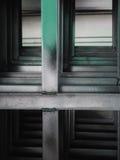 Modello e struttura di acciaio fotografia stock libera da diritti