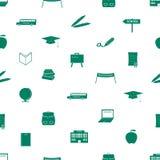 Modello eps10 dell'icona della scuola Illustrazione Vettoriale