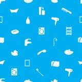 Modello eps10 delle icone del bagno Royalty Illustrazione gratis