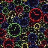 Modello eps10 di colore del quadrante dell'orologio Illustrazione Vettoriale