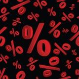 Modello eps10 di percentuali 3d Illustrazione Vettoriale