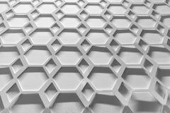 Modello esagonale astratto per struttura e fondo Fotografia Stock