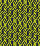Modello esagonale geometrico astratto senza cuciture - vector eps8 Fotografia Stock Libera da Diritti