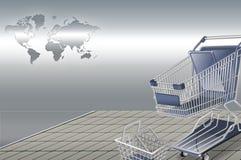 Modello esatto della carta di credito di dimensione Fotografia Stock