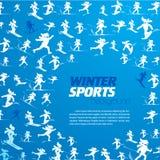 Modello estremo di sport di inverno Immagini Stock Libere da Diritti