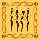Modello etnico astratto 215 Fotografia Stock Libera da Diritti