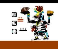 Modello etnico degli indiani americani: gli Aztechi, il Mayans, le inche Illustrazione di vettore Immagini Stock Libere da Diritti