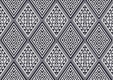 Modello etnico geometrico illustrazione di stock