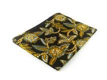 Modello etnico tradizionale del batik dell'Indonesia da Java Javanese Immagini Stock