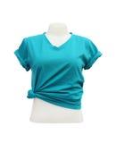 Modello femminile della maglietta sul manichino Immagine Stock Libera da Diritti