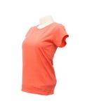 Modello femminile della maglietta sul manichino Fotografia Stock