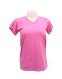 Modello femminile della maglietta sul manichino Immagine Stock
