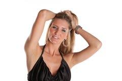 Modello femminile sexy Fotografie Stock