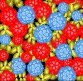 Modello, fiori floreali, modello elegante di stile, maglione Immagine Stock Libera da Diritti