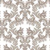 Modello floreale d'annata del damasco di Rich Baroque illustrazione di stock