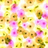 Modello floreale delicato royalty illustrazione gratis