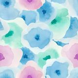 Modello floreale delicato illustrazione di stock