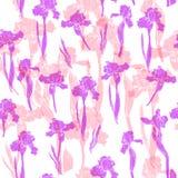 Modello floreale dell'acquerello Immagini Stock Libere da Diritti