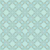 Modello floreale geometrico senza cuciture astratto Immagine Stock