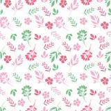 Modello floreale nel piccolo fiore Struttura senza giunte di vettore Illustrazione di Stock