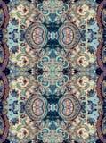 Modello floreale in tonalità di gray Fotografie Stock Libere da Diritti