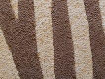 Modello/fondo di lana del tappeto Fotografia Stock Libera da Diritti