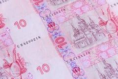 Modello/fondo ucraini dei soldi Immagini Stock Libere da Diritti