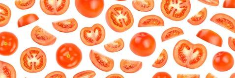 Modello fotografico del pomodoro rosso fresco Immagini Stock Libere da Diritti