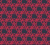 Modello geometrico astratto con i triangoli e linee - vector eps8 Immagini Stock