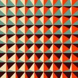 Modello geometrico astratto 3d poligonale illustrazione di stock