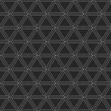 Modello geometrico astratto dei triangoli Fotografia Stock