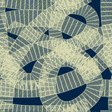 Modello geometrico astratto senza cuciture Immagini Stock Libere da Diritti