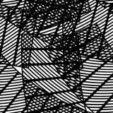Modello geometrico astratto senza cuciture Fotografie Stock