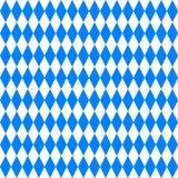 Modello geometrico blu astratto di Oktoberfest Fotografie Stock