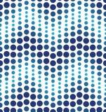 Modello geometrico blu del cerchio illustrazione di stock