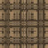 Modello geometrico - colore d'annata Immagini Stock Libere da Diritti